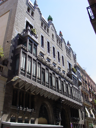 Palau g ell in barcelona guide to the gaudi palace from for Architect work barcelona