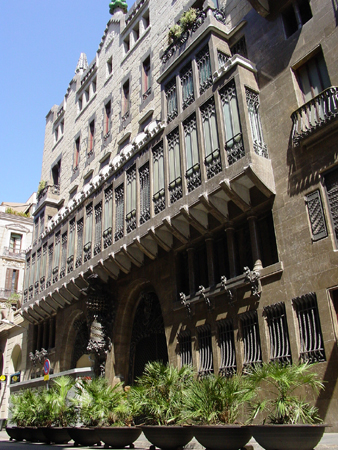 Palau Güell in Barcelona. Guide to the Gaudi Palace from BCN Rentals