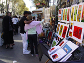 Artists on Las Ramblas